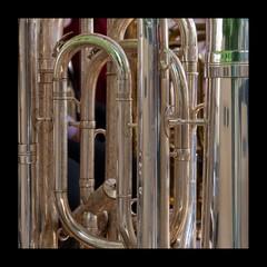 Close-up Of Tubas