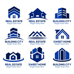 vector abstract roof of the house concept design real estate logo design template, Real Estate logo, Roof Construction logo, Builder logo design template vector illustration