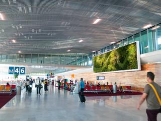 パリ シャルル・ド・ゴール空港 ターミナル2E サテライトM(フランス) Fototapete