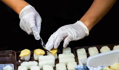 Thai Dessert Traditional Apply