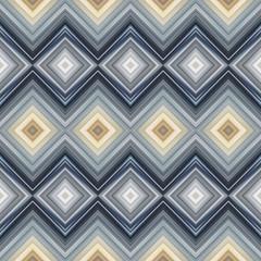 Seamless pattern tile for fashion fabric print, abstract futuristic geometric design