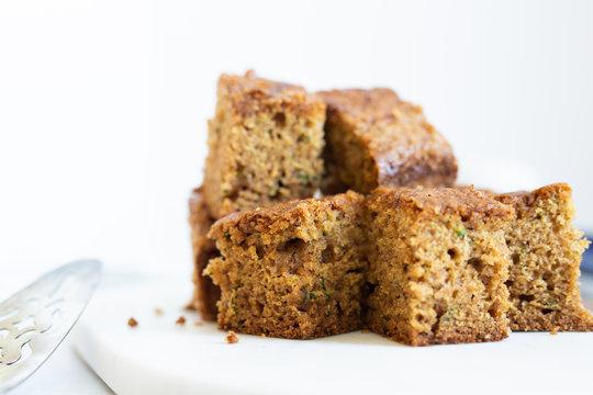 Golden Brown Zucchini Bread