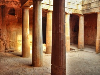 Columns Of Historic Building Fotomurales