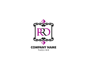 Initial Letter RRD Design Logo