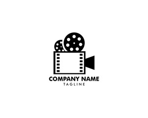 Video Camera Vector Logo Illustration