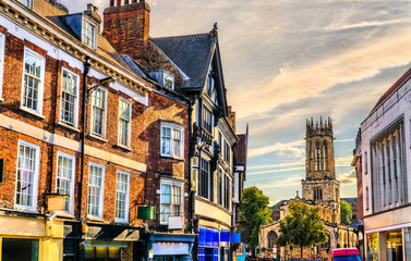 Traditional houses in York, England Fotomurales