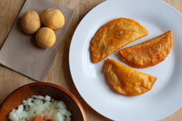 Panades, Belizean Food, Belizean Cuisine, Lunch