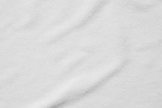 white cotton towel texture abstract background