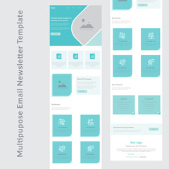 latest creative multipurpose business email newsletter template