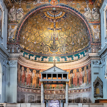 Basilica of Saint Clement in Rome, Italy