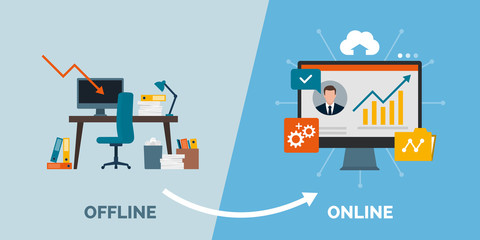 Offline to online business success