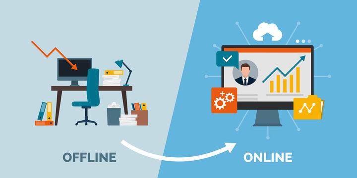 Offline to online business success