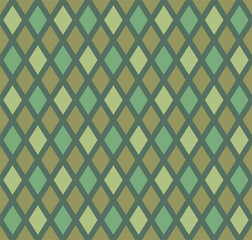 Creative design of rhombuses seamless texture