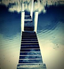 Narrow Jetty By Lake