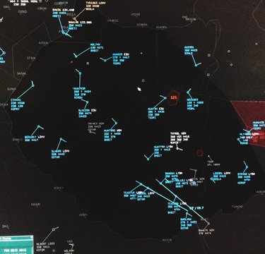 Weather Map In Air Traffic Control
