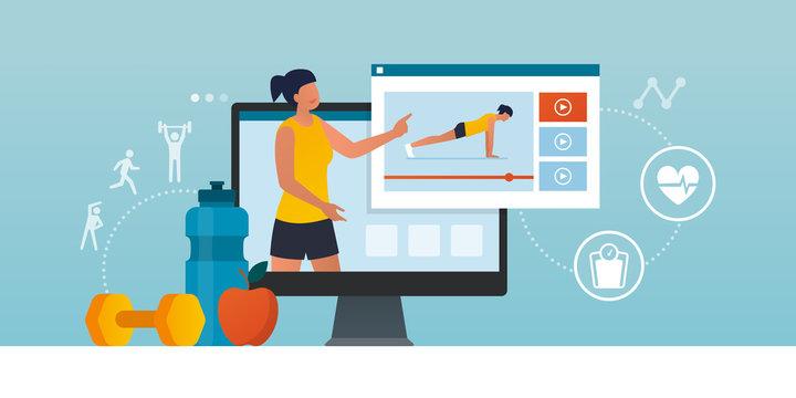 Fitness trainer online