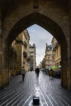 The Grosse Cloche in Bordeaux, France