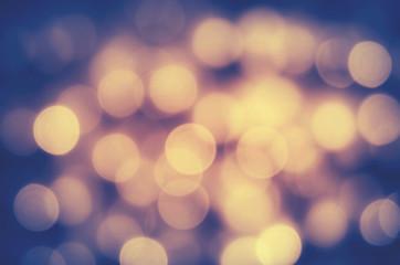 Fotomurales - Defocused Image Of Illuminated Lights