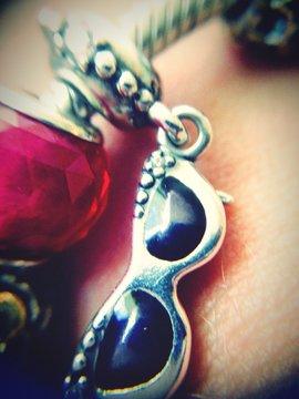 Cropped Hand Of Woman Wearing Bracelet