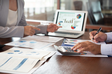 Obraz accounting audit - fototapety do salonu