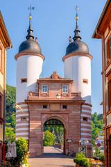 Alte Brücke Heidelberg Brückentor Fußgängerzone Türme