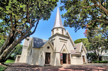 Old St. Paul's church or cathedral in Wellington, New Zealand