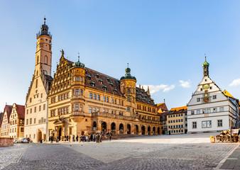 Rathaus Rothenburg ob der Tauber, Deutschland