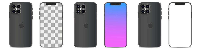 Apple iPhone 12. Smart phone. Touch screen. World technology. Kyiv, Ukraine - May 17, 2020