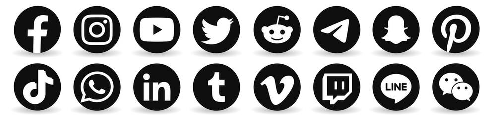 Social Media Icon Photos Royalty Free Images Graphics Vectors Videos Adobe Stock