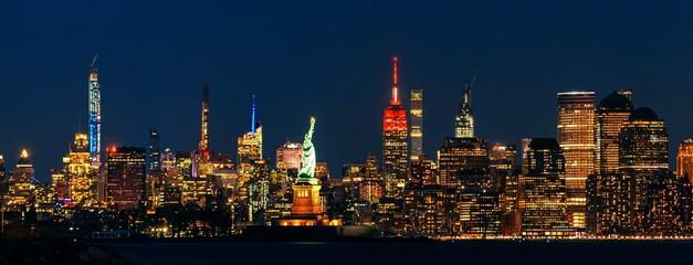 Fototapete - New York City skyline