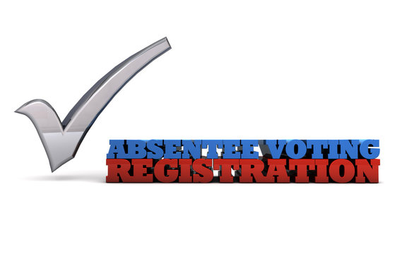 Absentee ballot registration