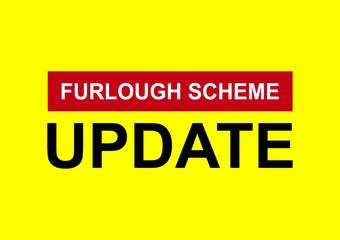 Furlough scheme extended vector Fotomurales