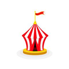 circus tent arena circus waving flag