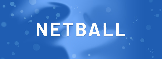 web Sport Label Netball