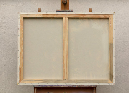stretcher for canvas, picture frame