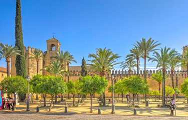 Cordoba, Spain, Historical center in springtime Fotomurales