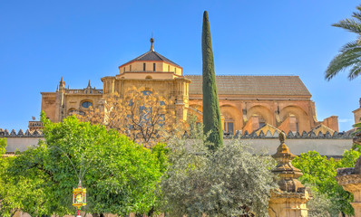 Wall Mural - Mosque-Cathedral of Cordoba, Spain