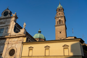 Fotomurales - Parma, Italy: San Giovanni Evangelista church