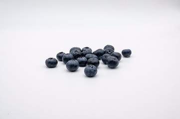 fresh, ripe, sweet and delicious blueberries