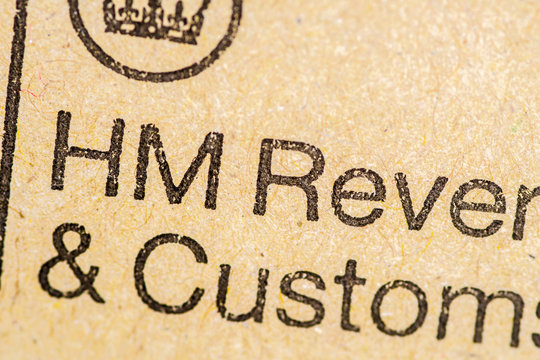 hm revenue and customs envelope
