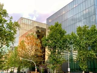 Cristal Office Buildings in Barcelona, Spain