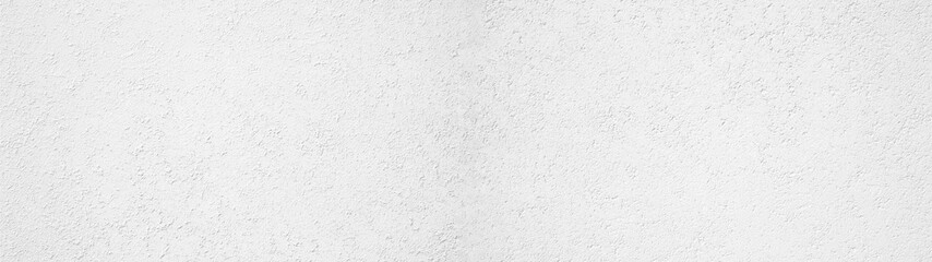 Papiers peints Montagne White painted rough plaster facade texture background banner panorama