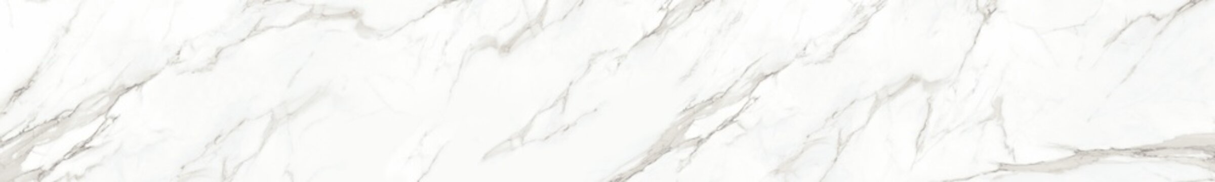 Panorama of white marble stone