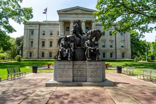 North Carolina State Capital Building Located In Raleigh North Carolina