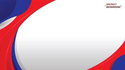 abstract red blue white background