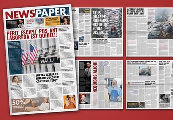 Newspaper Design Layout