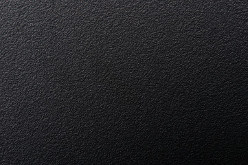 Abstract rough matte black texture