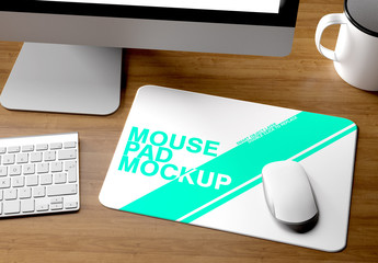 Mockup of a Mouse Pad