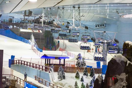 Ski Dubai in Mall of the Emirates