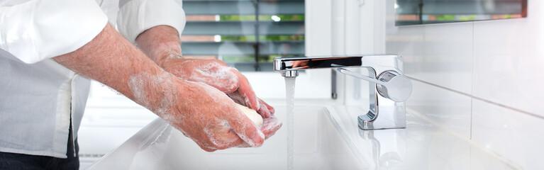 Hands wash